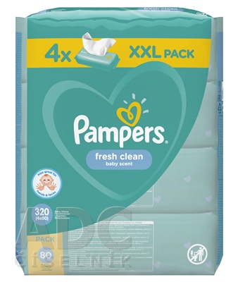 PAMPERS Baby Wipes Fresh Clean