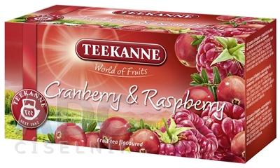 TEEKANNE WOF CRANBERRY&RASPBERRY