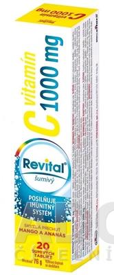 Revital vitamín C 1000 mg šumivý