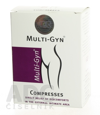 MULTI-GYN ANAL COMPRESSES