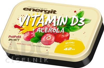 energit VITAMIN D3 + ACEROLA