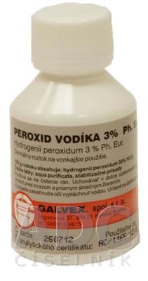 PEROXID VODÍKA 3% Ph. Eur. - GALVEX