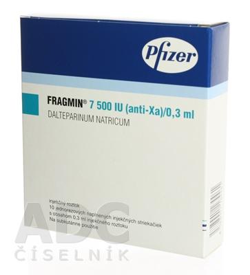 FRAGMIN 7500 IU (anti-Xa)/0,3 ml