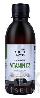 ADELLE DAVIS Lipozomálny VITAMÍN D3