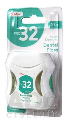 Dr.Max PRO32 Zubná niť expandujúca 40 m