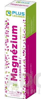 PLUS LEKÁREŇ Magnézium + vitamín B6