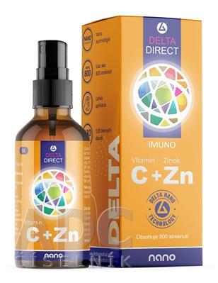 DELTA DIRECT Vitamín C + Zn