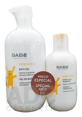 BABÉ DIEŤA Balíček Kúpeľový gél + šampón