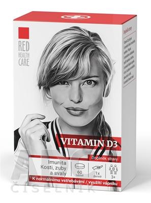 RED HEALTH CARE VITAMIN D3 1000 IU