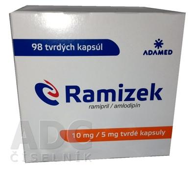 Ramizek 10 mg/5 mg tvrdé kapsuly