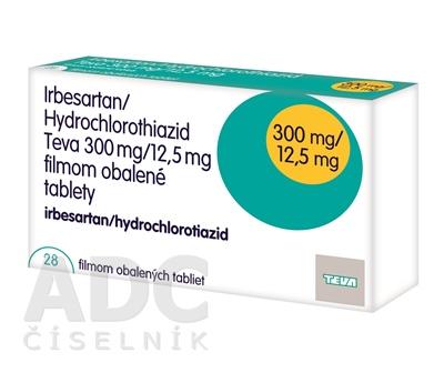 Irbesartan/Hydrochlorothiazid Teva 300 mg/12,5 mg