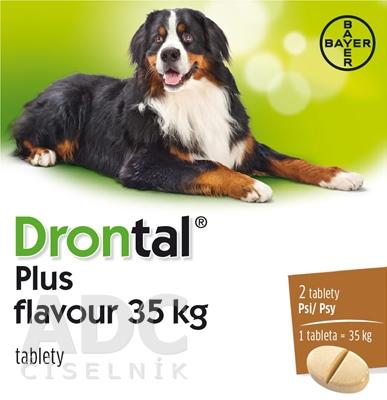 Drontal plus flavour 35 kg pre psy