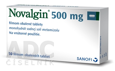 Novalgin 500 mg