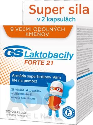 GS Laktobacily FORTE 21