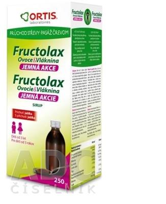 Fructolax Ovocie a vláknina SIRUP
