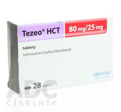 Tezeo HCT 80 mg/25 mg