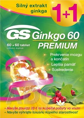 GS Ginkgo 60 PREMIUM + darček 2018