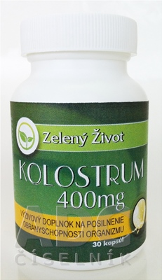 Zelený Život KOLOSTRUM 400 mg
