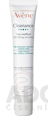 AVENE CLEANANCE EMULSION (Soin matifiant)