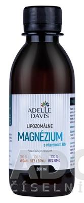 ADELLE DAVIS Lipozomálne MAGNÉZIUM s vitamínom B6