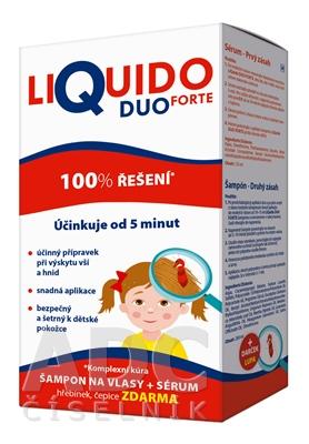 LiQuido DUO Forte šampón proti všiam
