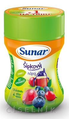 Sunar Rozpustný nápoj Šípkový s čučoriedkami