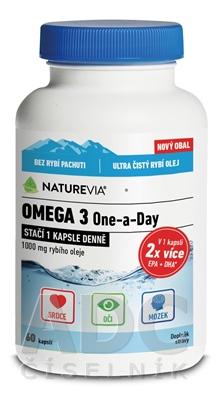 SWISS NATUREVIA OMEGA 3 One-a-Day 1000 mg