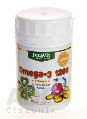 JutaVit Omega-3 1200 + vitamín E