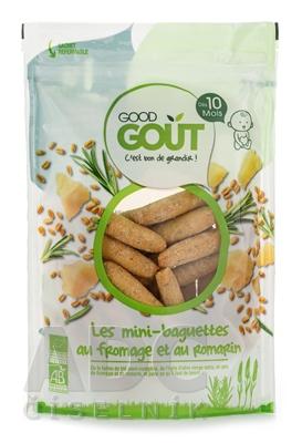 Good Gout BIO Mini bagetky s rozmarínom a syrom