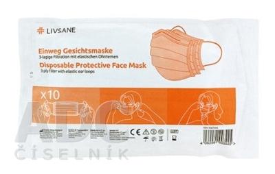 LIVSANE Ochranná maska na jedno použitie