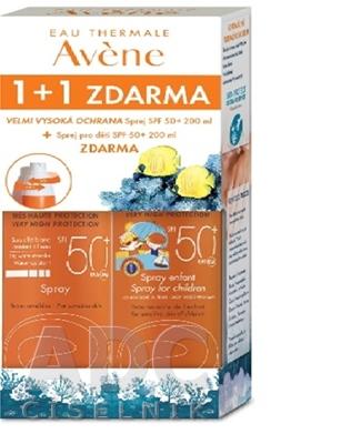 AVENE SPRAY SPF50+ (1+1 zdarma)
