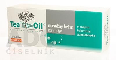 Dr. Müller Tea Tree Oil MASÁŽNY KRÉM NA NOHY