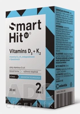 SmartHit IV Vitamins D3 + K2