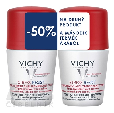 VICHY DEO STRESS RESIST 72H DUO