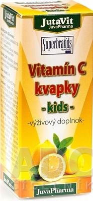 JutaVit Vitamín C kvapky - kids