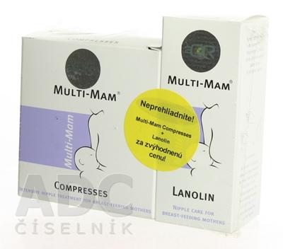 MULTI-MAM COMPRESSES + MULTI-MAM LANOLÍN