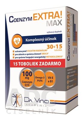 COENZYM EXTRA MAX 100MG - DA VINCI