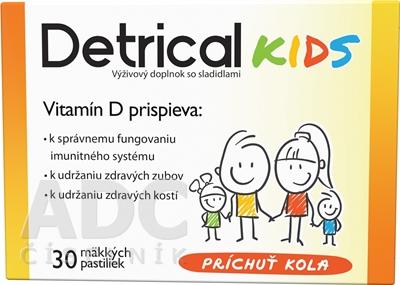 Detrical Kids Vitamín D s príchuťou kola