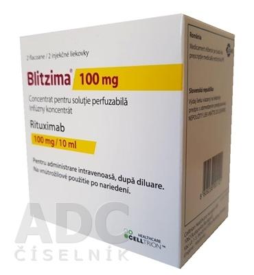 Blitzima 100 mg infúzny koncentrát