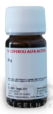 Tocoferoli alfa acetas - FAGRON