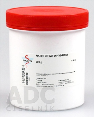 Natrii citras dihydricus - FAGRON