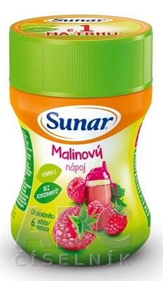 Sunar Rozpustný nápoj Malinový