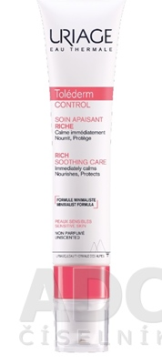 URIAGE Tolederm CONTROL RICH SOOTHING CARE