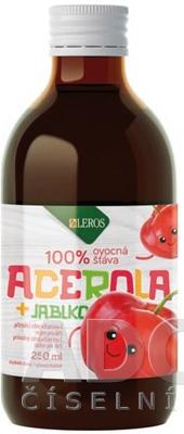 LEROS Baby šťava ACEROLA + JABLKO