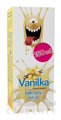 Kalciový sirup Vanilka, VULM