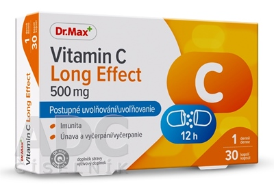 Dr.Max Vitamin C Long Effect 500 mg (inov. 2019)