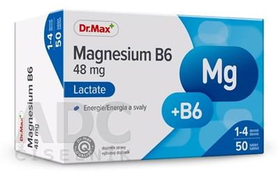 Dr.Max Magnesium B6 Lactate (inov. 2019)