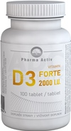 Pharma Activ Vitamin D3 FORTE 2000 I.U.