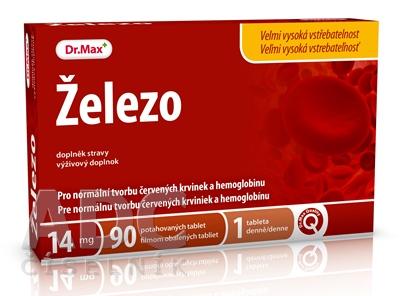 Dr.Max Železo 14 mg
