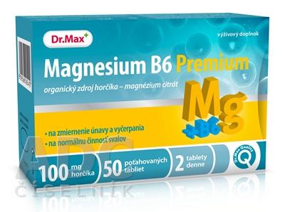Dr.Max MAGNEZIUM B6 PREMIUM